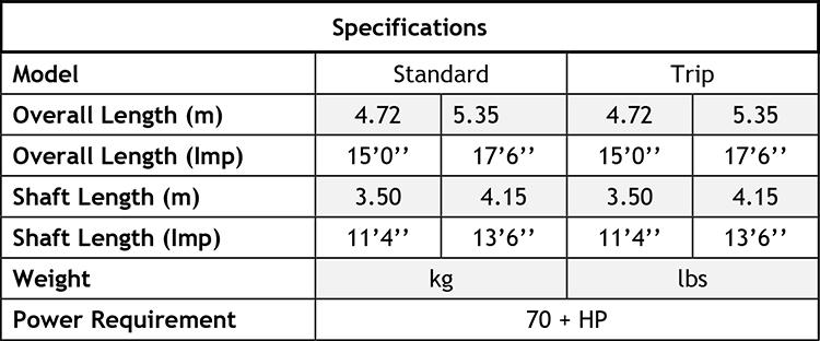 Whisk Agitator Specification